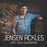 Jensen Ackles 2021-2022 Calendar: Calendar 2021–2022,18 Monthly Calendar Planner Jan 2021 - Jun 2022