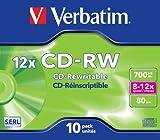 Immagine 2 verbatim cd rw 12x 80