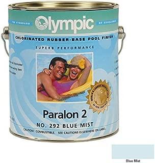 Kelley Technical Coating 296-GL Olympic Paralon 2 Chlorinated Rubber Base Enamel Gallon, Blue Mist