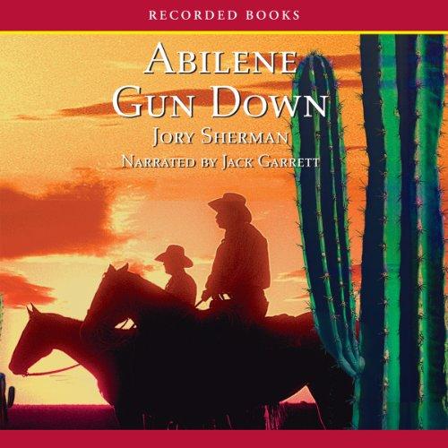 Abilene Gun Down audiobook cover art