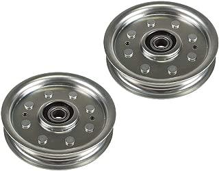 8TEN Flat Idler Pulley for Ariens Gravely Exmark Husqvarna 07300006 601000391 1-603497 07300039 2 Pack