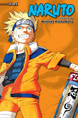 Naruto (3-in-1 Edition), Vol. 4: Includes vols. 10, 11 & 12 (4)