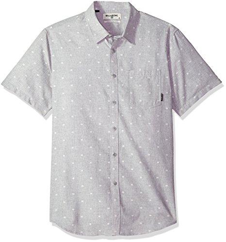 Billabong Sundays - Camisa de manga corta para hombre - Gris