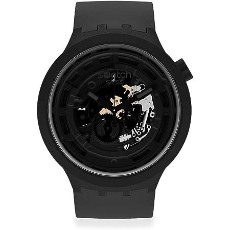 [スウォッチ] 腕時計 スウォッチ SWATCH BIG BOLD NEXT SB03B100 ブラック