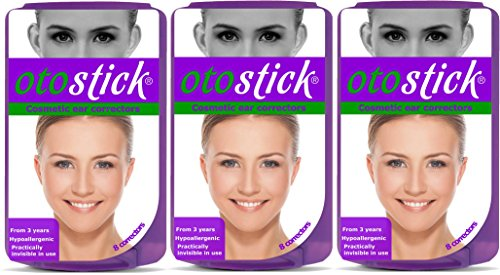Corrección instantánea para orejas prominentes de Otostick, 3 paquetes