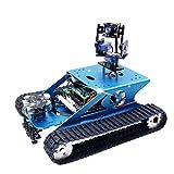 Yahboom Professional Raspberry Pi AI Robot Kit with Camera Programming Electronic DIY Tank Robotics...