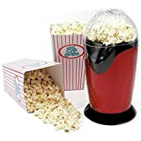 Material: The popping chamber is made of food grade aluminum alloy and the surface is made of BPA free and durable thermal conduct ABS with scratch and bump resistance INSTANT POPCORN - Enjoy theater-quality popcorn anytime at home! Pop delicious and...