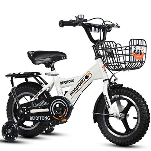 LiuJF Fitness Equipment Fietsfiets, jongens en meisjes, veilig, persoonlijke fiets, 2-11 jaar, voor baby, Auxiliarrad, 88-121 cm
