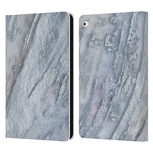 Head Case Designs Officially Licensed LebensArt Ice Marble Pastel Liquid Geode Leather Book Wallet Case Cover Compatible With Apple iPad Air 2 (2014)