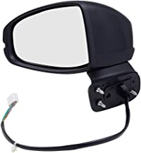 Replacement Driver Power Side View Mirror Heated for 2015-2018 Fit