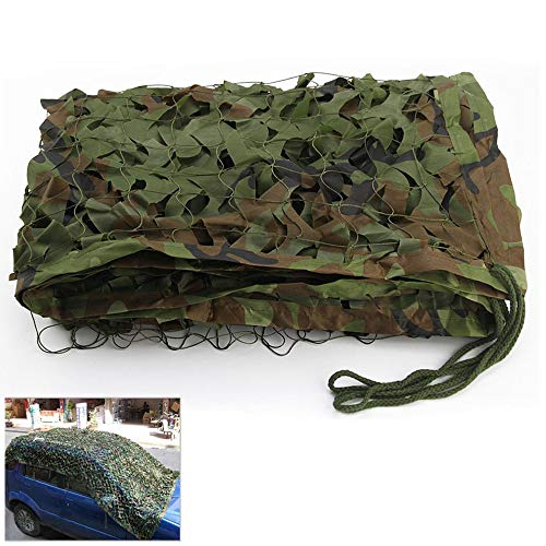 Librao Camo Netting Camouflage Woodland Net for Military Desert Camping Shooting Hunting Sunshade 16.4x9.8 ft
