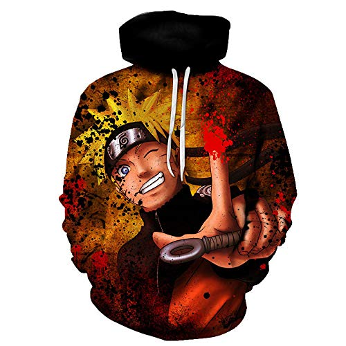 Hoodies,Anime Character Heren 3D Camouflage Sweatshirt Zip Sweater Lange mouwen Hoodie Plus Camo Coat