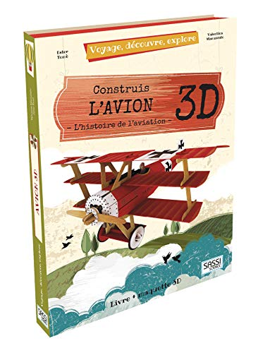 Construis l'avion 3D - L'histoire de l'aviation