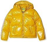 United Colors of Benetton 2HO353G80 Cappotto, Rosso (Senape 246), 82 (Taglia produttore:1Y) Bambina