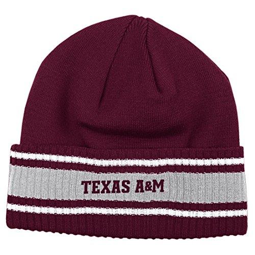Adidas Texas A&M Aggies 2014 NCAA Coach's Sideline Cuffed Knit Hat Chapeau