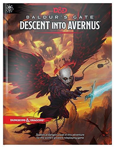 D&D- BALDURS GATE DESCENT INTO (Dungeons & Dragons)