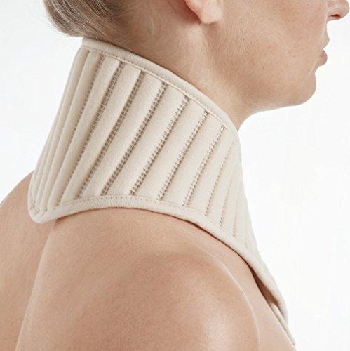 STAUDT Nackenband Uni - gegen Nackenschmerzen und spannungsbedingte Kopfschmerzen + Ratgeber gegen Nackenschmerzen (SomniShop Set)