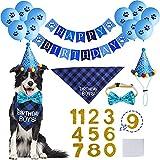 STMK Dog Birthday Party Supplies, Dog Birthday Bandana...