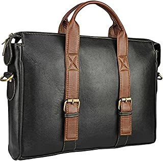 Men Black Messenger Bag