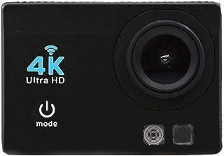 L.J.JZDY flytande rad sportkamera 4KWifi actionkamera sport Dv rörelsekamera mini DV (färg: svart)