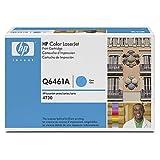108297: HP Color LaserJet cian CARTUCHO (dentinogénesis 12000 páginas) con tóner ColorSphere para el color LaserJet 4730mfp (Q6461A)