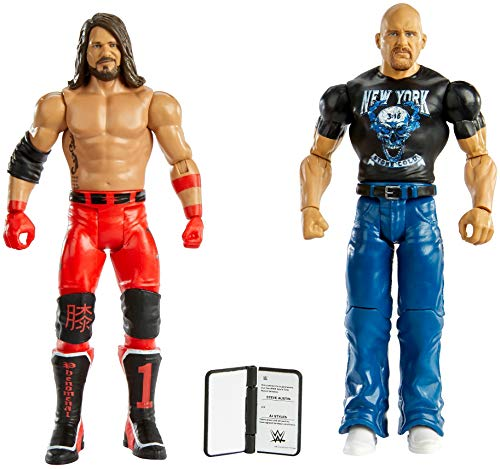 WWE Stone Cold Steve Auston vs AJ Styles Battle Pack