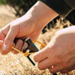 Azarxis Tent Pegs Ground Stakes Camping Heavy duty Forged Steel Metal Large Hard Ground Rocky Cast Wrought Iron 12 8…