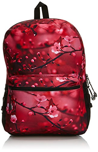Mojo Unisex's Blossom Majo Cherry Blosson Backpack-Multicoloured, One Size, Pink