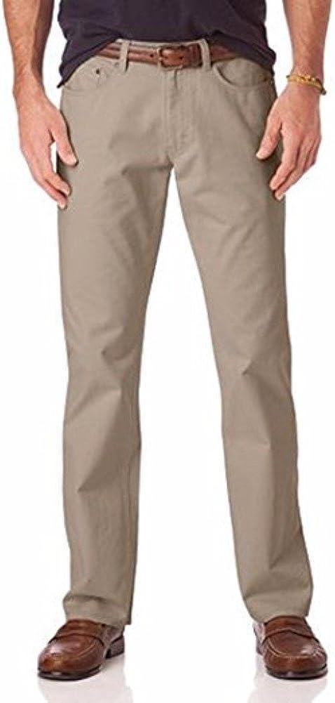 IZOD Men's Comforat Stretch 40% OFF Cheap Sale Straight-Fit Sales results No. 1 Pants 5-Pocket