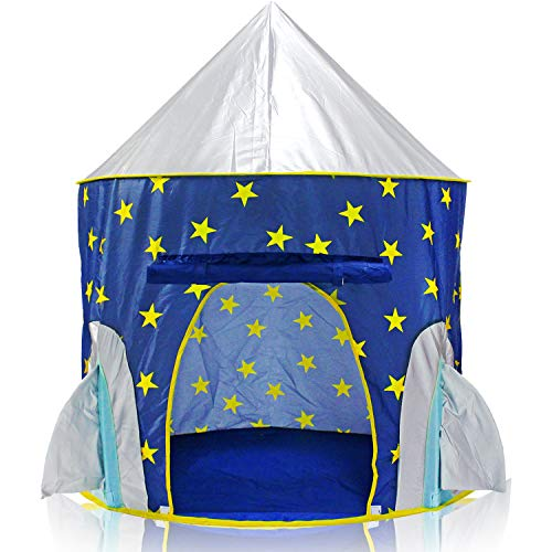 Yoobe Rocket Ship Play Tent -...