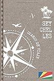 Seychelles Diario de Viaje: Libro de Registro de Viajes - Cuaderno de Recuerdos de Actividades en Vacaciones para Escribir, Dibujar - Cuadrícula de Puntos, Bucket List, Dotted Notebook Journal A5