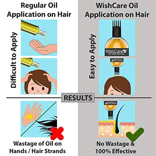 WishCare 100% Pure Cold Pressed & Natural Moroccan Argan Oil, 100ml