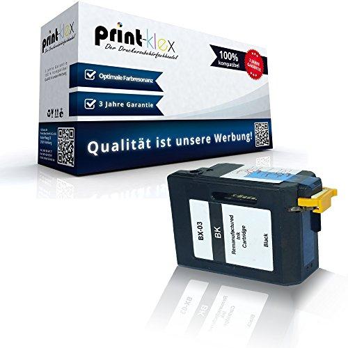 kompatible Tintenpatrone für Canon FaxBX 3 B100 B110 B110Series B115 B120 B140 B150 B150Series B155 B170 B190 B540 B550 B640 B820 B840 Black BK BX 03 - Eco Office Serie