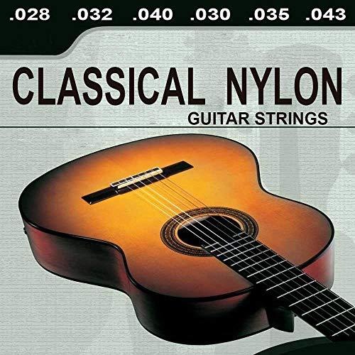 OcioDual Lote De 6 Cuerdas para Guitarra ClasicaEspañola Classical Nylon Musica