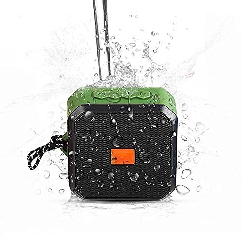 -Tek Styz IPX7 Speaker Works for Sonim XP3405 Shield with 13H Waterproof Playtime, Indoor, Outdoor Travel 1500mAh (Green)