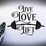 42x54 cm Wand Poster, Gewichtheben Fitness Sport Gym Mode Wandbilder Tapete Dekoration Bilder Living...