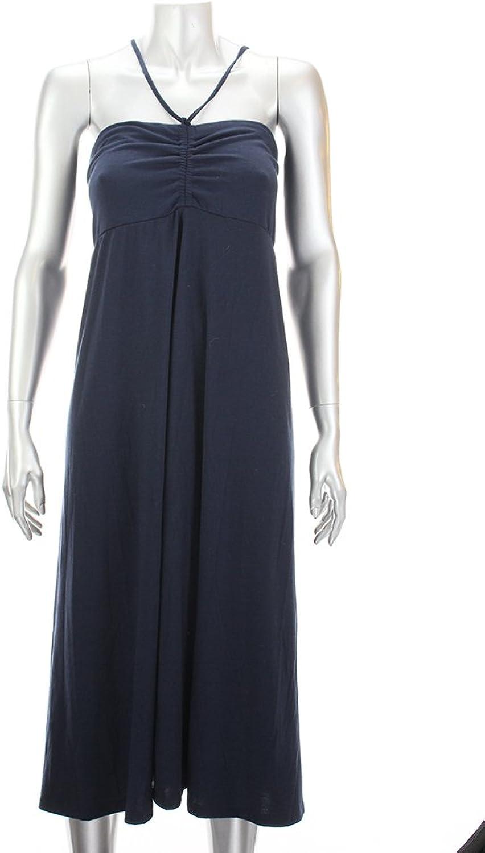 Inc International Concepts Navy Strapless Jersey Dress S
