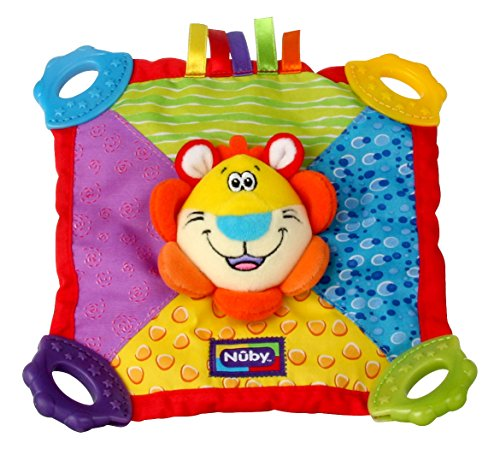 Nuby Teething Blankie (Styles May Vary)