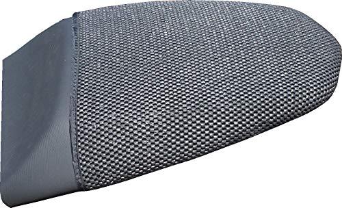 Cubierta TRIBOSEAT para Asiento Antideslizante Accesorio Personalizado Negro Compatible con BMW F800R (2009-2018)