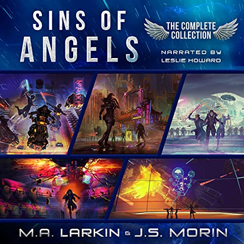 Sins of Angels Complete Collection: Books 1-5 Audiobook By J.S. Morin, M. A. Larkin cover art