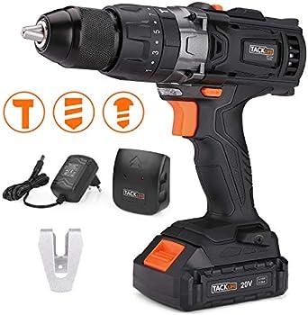 Tacklife PCD04C 20V Max Cordless Drill