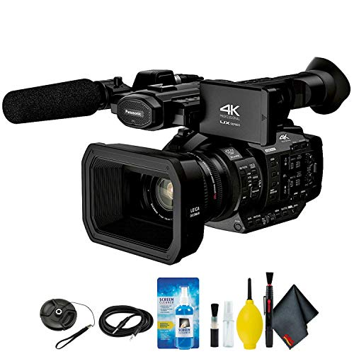 Panasonic AG-UX180 4K Premium Professional Camcorder Kamera Bundle Kit, camera, UX180