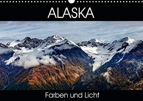 Alaska - Farben und Licht (Wandkalender 2020 DIN A3 quer)