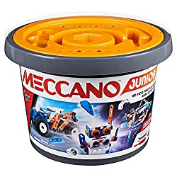 BUILDING KIT FOR UNLIMITED CREATIONS: The 150-Piece Bucket has everything young builders need for endless play, including 150 parts, 2 tools and instructions for 3 models! Build again and again! EASY-TO-USE PARTS AND TOOLS: Redesigned parts and tools...