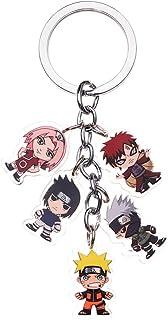 Templom SIX Anime-Charakter-Figuren-Anhänger, Puppe, Metall