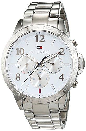 Reloj para mujer Tommy Hilfiger 1781641, mecanismo de cuarzo, diseño con varias esferas, correa de acero inoxidable.