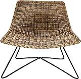 KARE Design 84116 Silla Sansibar Lounge, Beige, Talla única