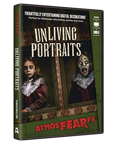 Horror-Shop Spooky Unliving Portraits Visual Halloween Effekt DVD als Halloween Dekoartion