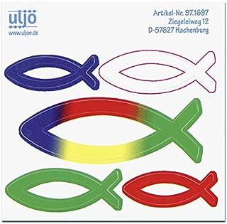 Uljö °° Fischaufkleber 5er Set
