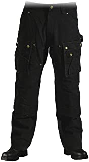 Carhartt EB219.BLK.S389 Washed Duck Multi Pocket Tech Pant